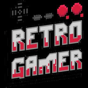 Retro Gamer (Schriftzug) 01