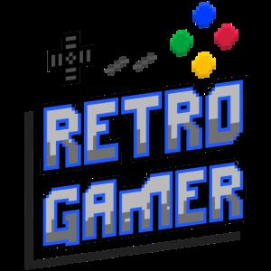 Retro Gamer (Schriftzug) 02