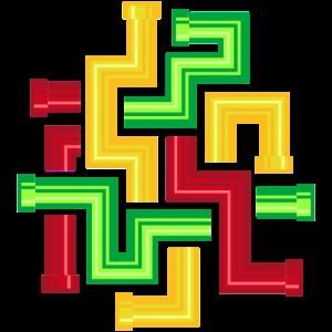 Röhren-Muster