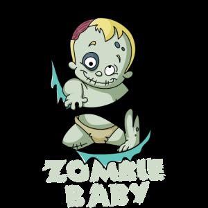 Zombie Kind Familien Halloween Kostüm