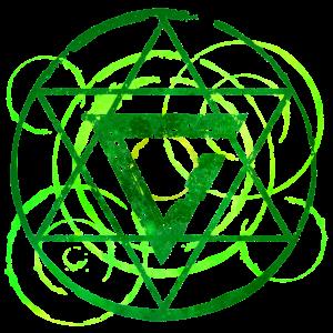 Magisches Symbol grün