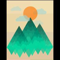 Berge (Landschaft) 01