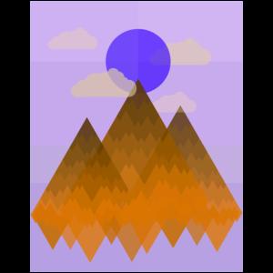 Berge (Landschaft) 02