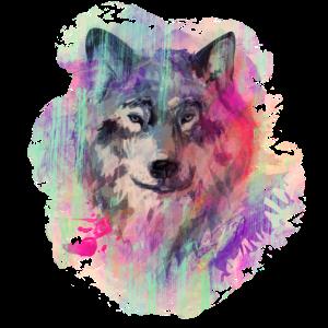 Wolf im Norden Colour version