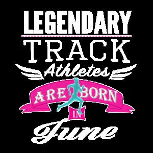 Der legendäre Track Jare wurde in une Mädchen geboren