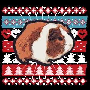 Ugly Christmas Meerschwein