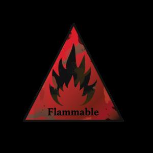 flammable v2 druck