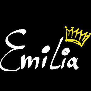 Emilia mit Krone als Geschenkidee