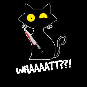Cat What? Funny Cat Murderous