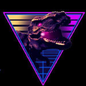 Retro Dino 80er