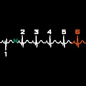 Motorrad EKG Puls