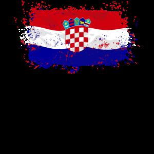 Croatia Flag Logo