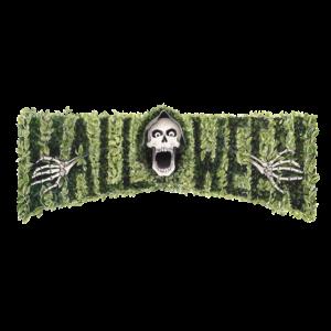Halloween lässt Schriftzug