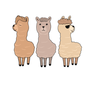 Alpaca Squad Lama Alpaka Haustier Geschenk