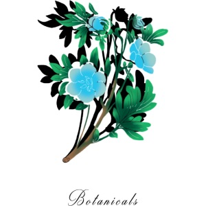 Disegno di nemophila blu