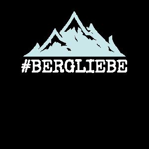Bergliebe, Berge, Wandern Berg Geschenkidee