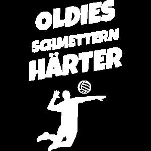Volleyball Oldies schmettern härter