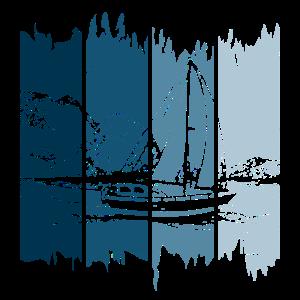 Segeln auf Farbe