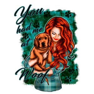 Süßer Hundespruch | Yolo-Artwork