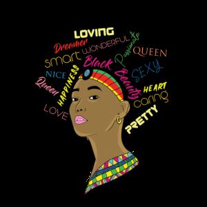 Melanin Geschenk Afrika Afro Proud Stolz