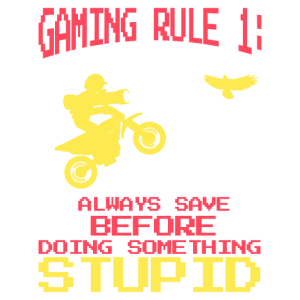 Gaming Rule 1# - Gamer Meme Streamer Zocker