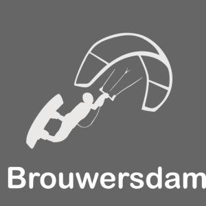 Kitesurfer Brouwersdam