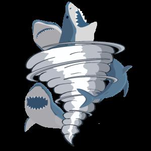 Halloween-Entwurf für Haifisch-Liebhaber