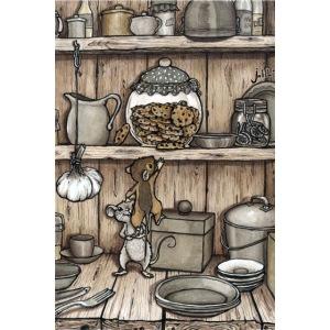 Mäuse und Keksglas