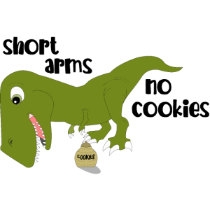 Trex Dino comic lustig witzig Geschenk Kinder