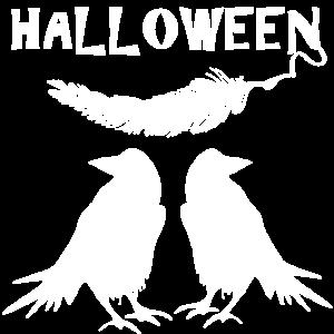 Halloween Raben