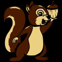 Eichhörmchen futter freude lieb
