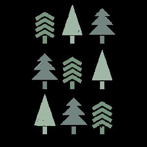 Vintage Tannenbaum Tanne Weihnachtsbaum Geschenk