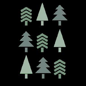 Vintage Tannenbaum Tanne Weihnachtsbaum