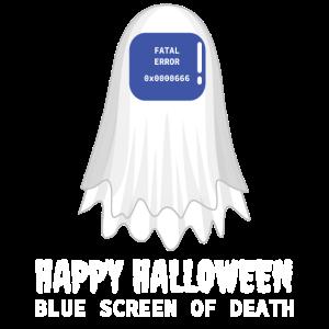 Halloween-Entwurf für Computerliebhaber