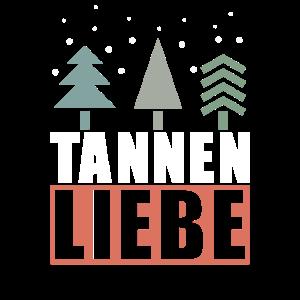 Tannenbaum Vintage Minimalstisch Wintermotiv