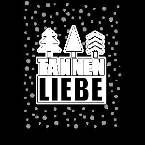 Tannen Tannenbaum Wintermotiv Schneeflocken