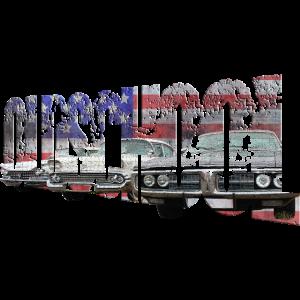 Oldschool Cars Amerika - Retrodesign