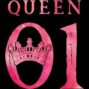 Queen 01 krone pink