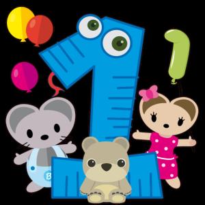 Erster Geburtstag Bubsimaus 1 Jahr