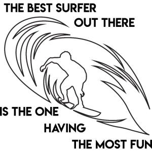Waveriding, Cooler Wellenreiter - Best Surfer