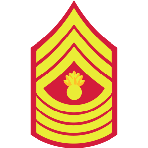 Master Gunnery Sergeant MGySgt, Mision Militar ™
