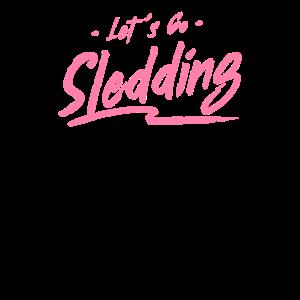 Schlittenfahren