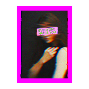 Everyone Hates You Sad Girl Vaporwave Aesthetic