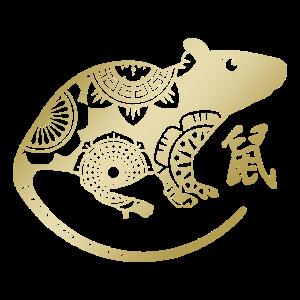 Chinesisches Neujahr der Ratte