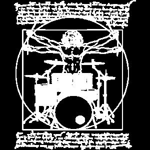 Schlagzeuger,Da vinci,Schlagzeug,perfekter Mann