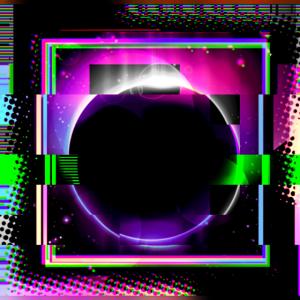Geometrisches Muster Licht modern Zukunft Ästhetik