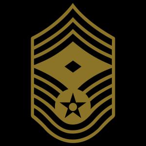 Chief Master Sergeant CMSgt First Sergeant