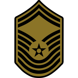 Chief Master Sergeant CMSgt, Air Force