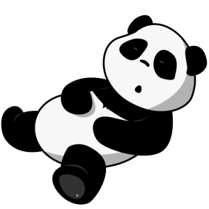 PandaLena schlafender Panda