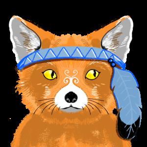 Tribal Foxy Gefiederter Freund